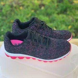 Avia Shoes - Avia Women's  Memory Foam Sneaker Shoe Black/Pink